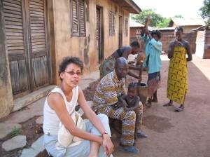 Kadya Tall e Camille Amouro. Benin