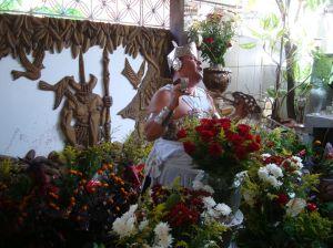 Ogum no ritual do sacrificio. Orossi.